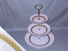 Wedgwood Adelphi 3-Tier Hostess Cake Plate Stand