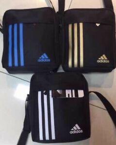 New  Men's Adidas  Cross body Shoulder Messenger Bag Handbag  Sports Travel Bag