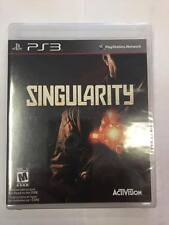 Singularity (Sony PS3) ***BRAND NEW FACTORY SEALED***