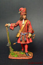 Tin soldier Chief Officer of the Grenadier Regiments metal figure54 mm