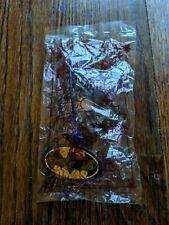 2 NEW SUBWAY Kids Meal 1998 DC Super Heroes Hangers BATMAN