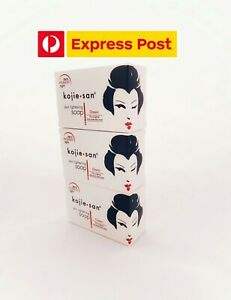 X3 Authentic Kojie San Skin Lightening Soap Acid 3 Bars 135g each whitening soap