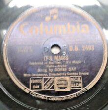 """Doris Day - It's Magic / Put Em' In A Box, Tie Em' With A Ribbon 10"""" 78RPM 1949"""