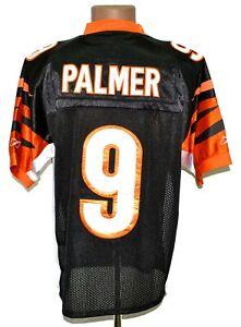 NFL CINCINNATI BENGALS AMERICAN FOOTBALL SHIRT #9 PALMER AUTHENTIC REEBOK XL 48
