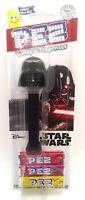 PEZ Star Wars DARTH VADER Dispenser & ( Candy 3-Pack ) Factory Sealed