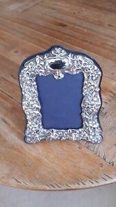 Silver Victorian Elaborate Photo Frame