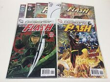 THE FLASH #5-12 (DC/2010/WB TV SHOW/FLASHPOINT/REVERSE FLASH/101666) SET OF 7