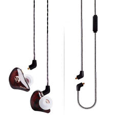 BASN Bsinger Pro In Ear Monitors Noise Cancellation Two Cables With Microphones