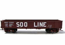 N Scale Model Railroad Trains Atlas Soo Line Gondola with Removable Load 67337