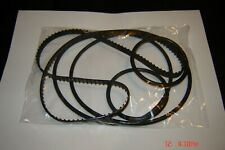 16MM EIKI RT- 0, RT Series Projector Belts,  5 Belt Set / 16mm Eiki RT Belt Kit