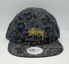 STUSSY x NEW ERA (GOLD FLAKE) 5 PANEL STRAPBACK CAP BRAND NEW w/TAGS!!