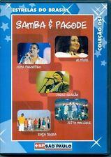 Samba E Pagode Estrelas Do Brasil Coleção DVD (Pagodinho, Alcione, Aragão....)