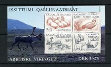 U002 Greenland 2000 Arctic Vikings sheet Mnh