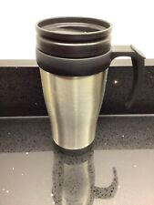 Thermal Travel Mug Stainless Steel with Handle & Screw Lid