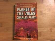 Planet of the Voles (Berkley Medallion Sf, S2248) by Platt, Charles Berkley
