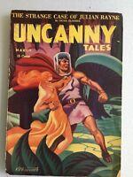 Uncanny Tales pulp, Canada, March 1942, VG