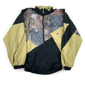 VTG Shell Suit Jacket Festival Tracksuit Top Windbreaker 80s/90s Small