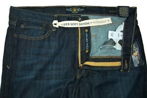NEW ~ LUCKY BRAND 361 VINTAGE ~ PREMIUM ITALIAN DENIM ~ Classic Fit Jeans 36X34
