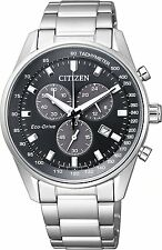 WatchCitizen Citizen Collection AT2390-58E Eco Drive Chronograph Men's Watch New