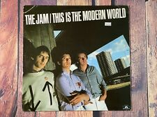 The Jam THIS IS THE MODERN WORLD LP Vinyl Record Album 1977 Polydor Records Punk