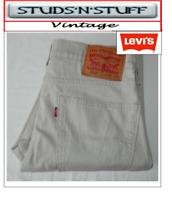 "VINTAGE LEVIS 510'S SKINNY FIT JEANS W30"" L31"" APROX SIZE UK 10 (T407"