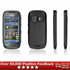 Teléfono inteligente Desbloqueado Nokia C7-00 Retro Diseño De Pantalla Táctil-Gris
