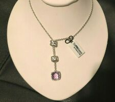 Roberto Coin Sterling Silver Amethyst Pendant Necklace New $1,600