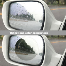 2pcsCar Rear View Mirror Protective Film Car Anti-Fog Protective Film Anti-Glare