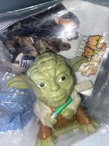 2005- Yoda Burger King Toy- Star Wars Episode III- Revenge of the Sith- Sealed