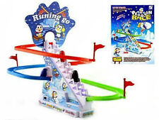 Penguin Race Slide Game Battery Operated Slope Toy#]