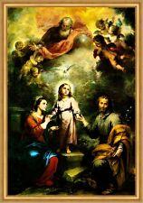 Die zwiefache Dreifaltigkeit Murillo Heilige Familie Sankt Engel LW H A2 0218