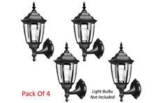 Energy Saving Wall Lantern Sconce - Pack Of 4