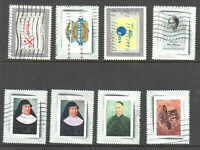 Canada Picture Postage Collection (8 stamps USED)
