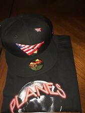 ROC NATION HAT FITTED  SIZE  7 1/2 WITH PIN AMERICAN DREAM IN FITTED! JAY-Z HAT