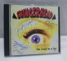 She Could Be a Spy by Swingerhead (CD, Sep-1998, Colossal) Signed