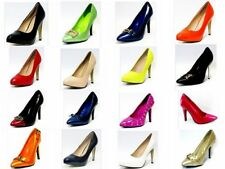 LADIES COURT SHOES WOMENS SMART HIGH HEEL WORK OFFICE / FORMAL SHOES
