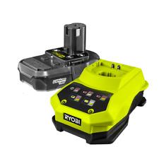 Ryobi One+ 18V Li-ion Battery And Charger Starter Kit