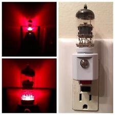12AX7 Style Vintage TV Ham Vacuum Tube Night Light w/ Simulated LED Heater Glow