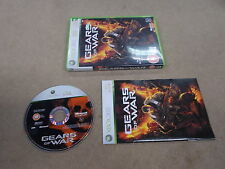 Xbox 360 Pal Game GEARS OF WAR with Box Instructions