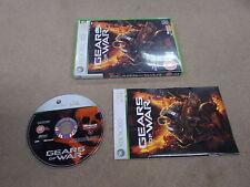 XBOX 360 PAL jeu GEARS OF WAR AVEC BOITE instructions