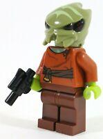LEGO STAR WARS CANTINA ALIEN BUG BOUNTY HUNTER MINIFIGURE - MADE OF GENUINE LEGO