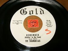 THE SHANGRI-LAS - REMEMBER - LEADER OF THE PACK    / LISTEN - GIRL GROUP