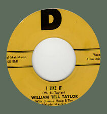 ROCKABILLY ORIGINAL: WILLIAM TELL TAYLOR-I Like It/I Love Only You D