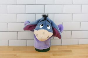 "Disney Arcotoys Mattel Winnie The Pooh Eeyore Plush Toy 8"" Hand Puppet, Pretend"