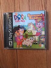 Dora the Explorer: Barnyard Buddies (Sony PlayStation 1, 2003)