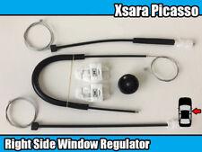 CITROEN Xsara Picasso Regulador de Ventana Eléctrica Kit De Reparación Lado Delantero Derecho