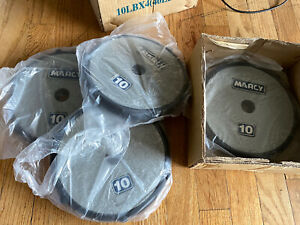 VTG New Set of 4 Marcy 10 lb Dumbbell Set Weight Plates - 40 lb TOTAL