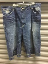 Enyce Jeans Shorts Denim Size 44  Pre-owned Long Baggy