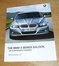 BMW SERIE 3 opuscolo di E90 2010 320i 325i 335i 318d 320d 325d 330d 335d M Sport