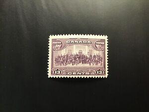 """JPS_Stamps! #224...""""Charlottetown, 13¢ violet"""" (vf/light hinge)"""